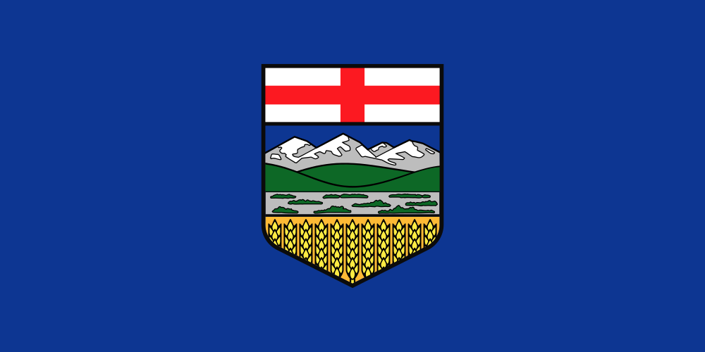 アルバータ州の州旗