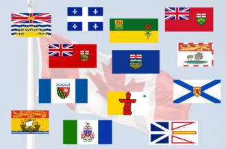 カナダの州旗