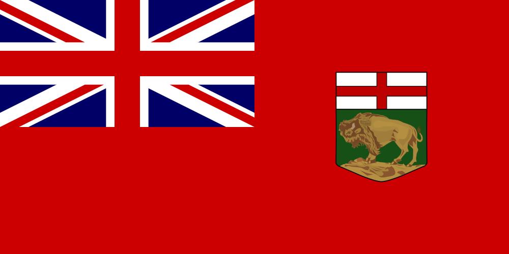 マニトバ州の州旗