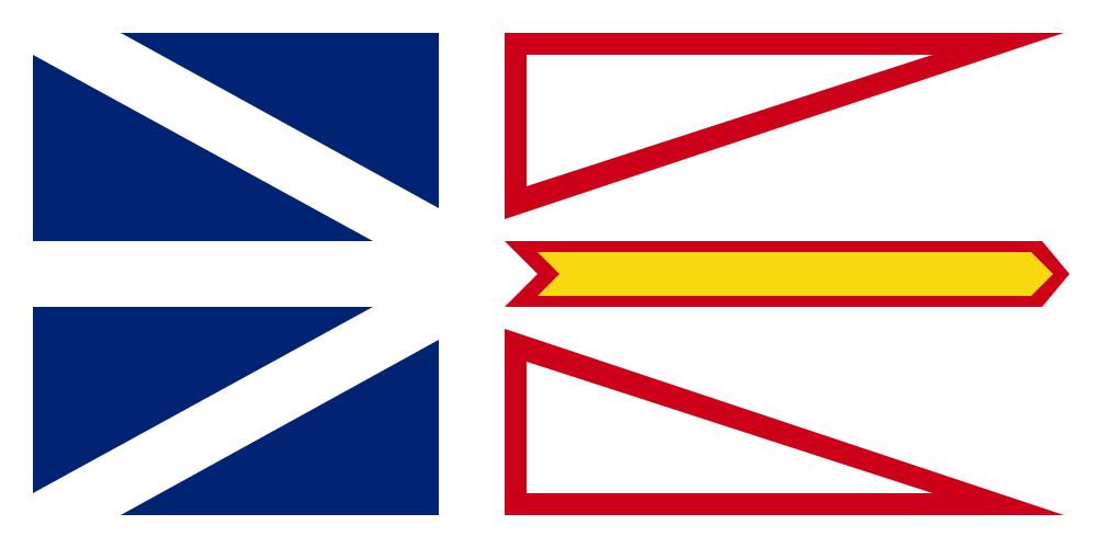 ニューファンドランド・ラブラドール州の州旗