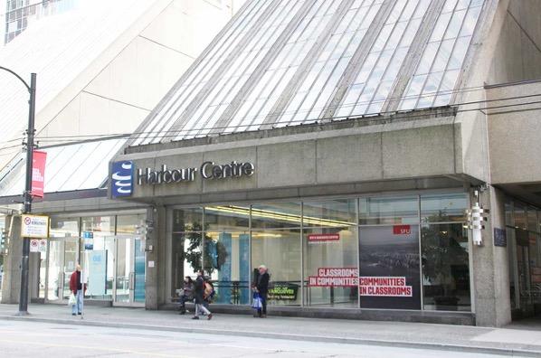 ハーバーセンターの入り口