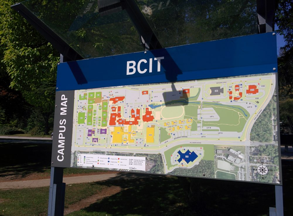 BCIT Burnaby Campus Map